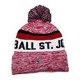 KNIT FOOTBALL TASSEL CAP