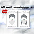 C.S.B./S.J.U. PPE FACE MASK - NOT RETURNABLE