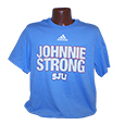 JOHNNIE STRONG ADIDAS T-SHIRT